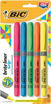 BIC® Grip Brite Liner Assorted 5 Pack