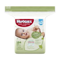 Huggies Natural Care Wipes Refill - 184 count