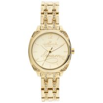 "Hallmark Ladies Gold ""Dream"" Analog Watch"