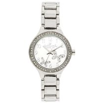 Hallmark Ladies Silver Butterfly Design Analog Watch