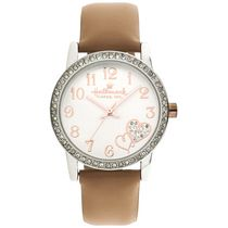 Hallmark Ladies Silver Two Hearts Design Analog Watch