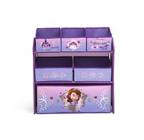 Disney Sofia the First Multi-Bin Toy Organizer