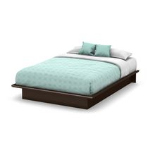 South Shore Soho Collection Queen Platform Bed Chocolate