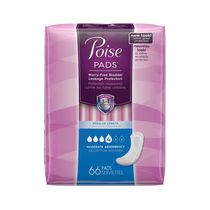 Poise® Moderate Absorbency Regular Length Pads