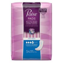 Poise® Moderate Absorbency Long Length Pads