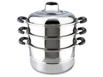 EMF Stainless Steel 3 Tier Steamer