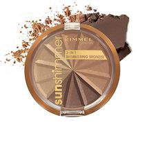 Rimmel London SunShimmer 3 in 1 Shimmering Bronzer Bronze Goddess