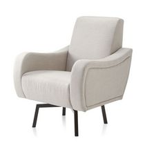 Delta® 'Lux' Swivel Nursery Chair Grey