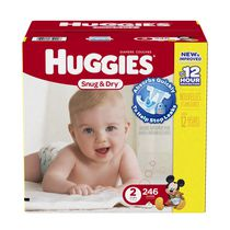Huggies® Snug & Dry 12 Hours Protection Diapers Size 2