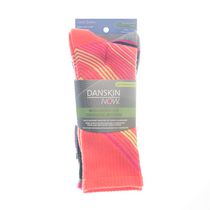 Danskin Now Women's' Crew Socks, Pack of 3 Multi