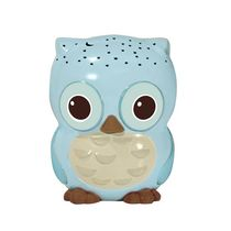 Cloud B Twilight Sunshine Owl™ - Mini Nightlight Blue