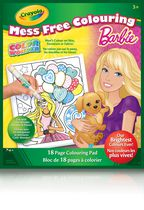 Crayola Color Wonder Book - Barbie