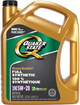 Quaker State Full Synthetic 5W-20 Motor Oil Pack
