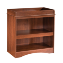 South Shore Peak-a-boo Collection Changing Table Royal Cherry