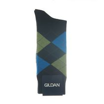 Gildan Men's Crew Socks Black