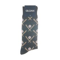 Gildan Men's Crew Socks Charcoal Chrome