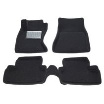 Findway 3D Floor Mats for 2006-2013 Lexus IS Sedan AWD - (37180BB) - Black