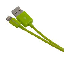 NÜPOWER, 1.2m Chg/Sync Cable, Lightning/USB, Green