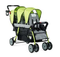 Foundations 3 Passenger Stroller Lime