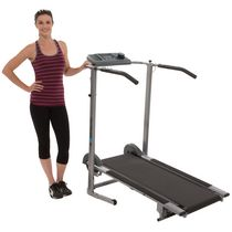 Exerpeutic 100 XL High Capacity Magnetic Resistance Manual Treadmill With Heart Pulse System