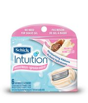 Schick Intuition Women's Advanced Moisture Shea Butter Razor Refills