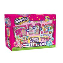 Shopkins 4 Game Collectors Edition Value Pack