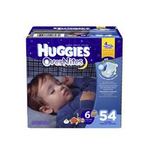 Couches HUGGIES® Overnites Taille 6