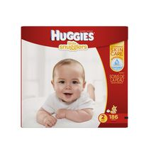 HUGGIES® Little Snugglers Diapers Economy Plus Size 2