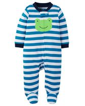 Child of Mine made by Carter's Newborn Boys' Sleep & Play Outfit - Frog 3-6 months
