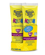 Banana Boat Kids Tear Free SPF 60 Sunscreen Lotion Value Pack