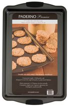 Paderno 17-inch Premier Cookie Sheet with Silicone Grip