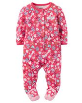 Child of Mine made by Carter's Newborn Girls' Sleep & Play Outfit - Floral 3-6 months