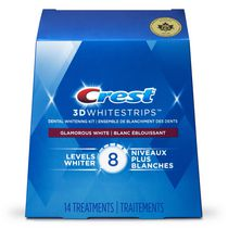 Ensemble de blanchiment des dents Crest 3D White Luxe Whitestrips Blanc éblouissant