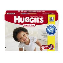 Huggies Snug & Dry Diapers Economy Plus Size 5
