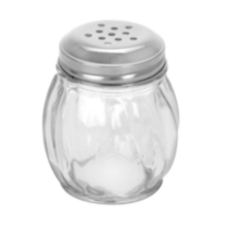 Glass Cheese Shaker