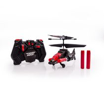 Hélicoptère radiocommandé Sharpshooter Long Shot - Air Hogs RC - Noir