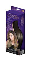 Secret Extensions® Headband Hair Extensions Darkest Brown/Black H-50