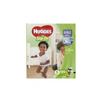 Couches Huggies® Little Movers Slip-On* Econo Plus Taille 6