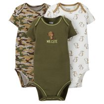 Child of Mine made by Carter's 3-Pack Newborn Boy Bodysuits 6-12 months