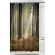 Mainstays Trailblazer Fabric Shower Curtain