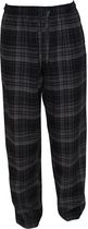 George Men's Flannel Pant Black L