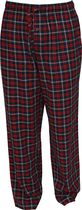 George Men's Flannel Pant Red L