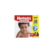 Huggies Snug & Dry Diapers - Giga Pack Size 3