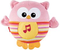 Fisher-Price Soothe & Glow Owl Sleep Aid, Pink