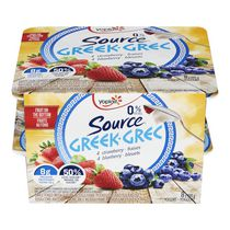 Yoplait Source® Strawberry and Blueberry Greek Yogurt
