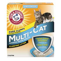 ARM & HAMMER™ Multi-Cat Strength Fragrance Free Clumping Litter