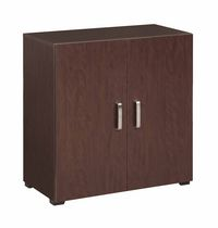Homestar 4 Cube Multifunctional Storage Unit - 30 inch, Espresso