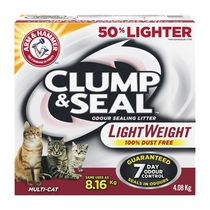 ARM & HAMMER™ Clump & Seal™ Odour Sealing Lightweight Cat Litter