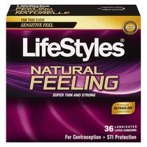 LifeStyles® Natural Feeling™ Premium Lubricated Latex Value Pack Condoms