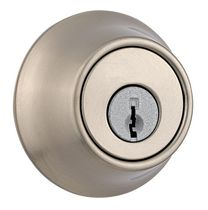 Fix-It Single Cylinder Deadbolt Satin Nickel